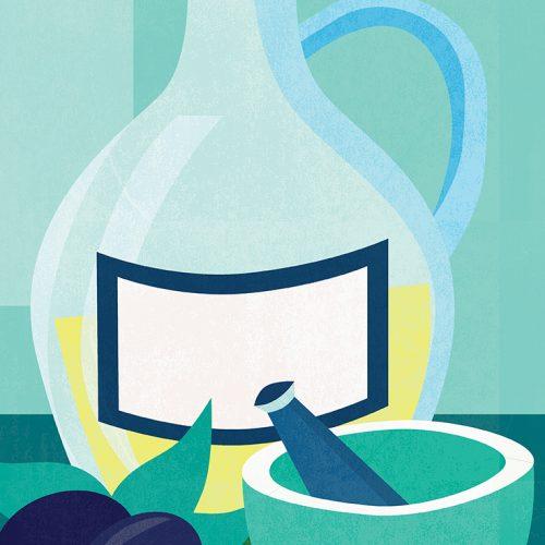 Food illustration Sample