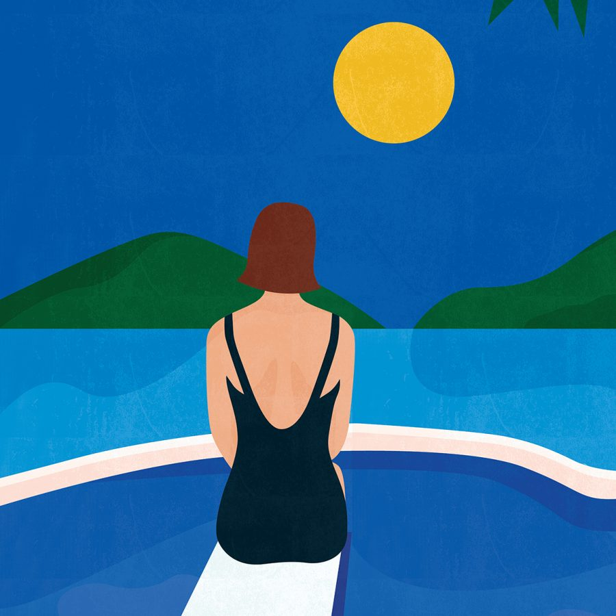 Pool Side Print