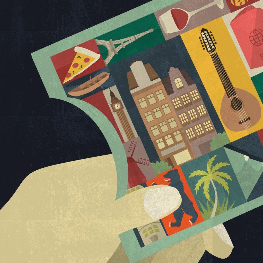 Interrail Poster Design